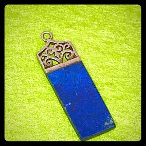 🦋Sterling Silver 925 Lapis Pendant🦋